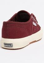 SUPERGA - Junior Classic Sneaker Dark Red