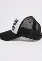 Billabong  - Sticker Wave Trucker Black and White