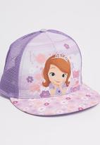 Character Fashion - Sofia  Flatbill Cap Mid Purple