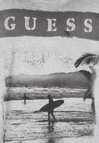 GUESS - Printed   Tee Grey