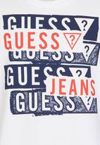 GUESS - Jeans Tee White