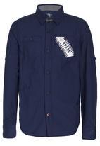 GUESS - Relaxed Shirt Dark Blue