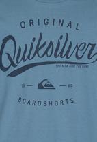 Quiksilver - Marching Band Tshirt Dark Blue