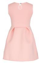 GUESS - Scuba Dress Coral