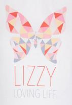 Lizzy - Saser Top White