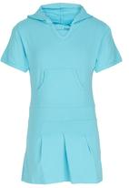 POP CANDY - Hooded  Dress Mid Blue