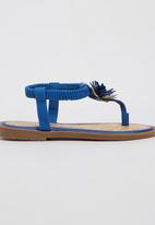 Rock & Co. - Sandal with Flower Detail Navy