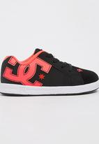 DC - Boys Court Graffik Elastic  Sneaker Black