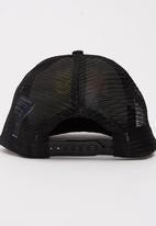 Character Fashion - Avengers Flatbill Cap Black
