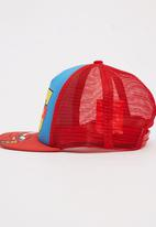 Character Fashion - Cars Flatbill Cap Multi-colour