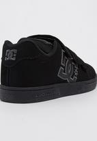 DC - Boys Character V  Sneaker Black