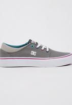 DC - Girls Trase TX Sneaker Grey