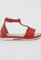 Rock & Co. - Strappy Sandal Red
