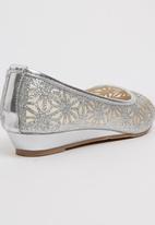 Footwork - Nia  Ballerina Pump Silver