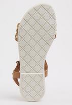Footwork - Penny Flat Sandal Tan