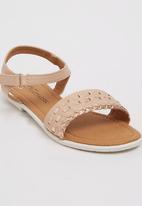 Footwork - Penny Flat Sandal Mid Pink