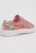 Footwork - Squeaks Sneaker Mid Pink