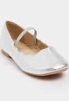 Footwork - Darling Ballerina Pump Silver