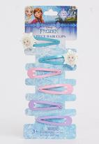 Character Fashion - Frozen Snap Clips Multi-colour