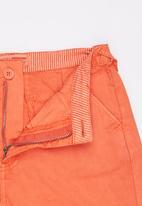 London Hub - Chino Short Assorted Orange