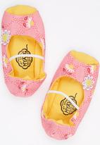 Myang - Open Toe With Pump Flowers Multi-colour