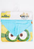 Character Fashion - Minions  Hooded  Towl Multi-colour