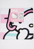 Character Fashion - Hello Kitty  Beach Towl Multi-colour
