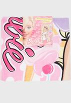 Character Fashion - Barbie Beach Towl Mid Pink