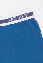 Jockey - 1 Pack Boys Pouch Trunk Dark Blue
