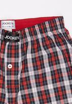 Jockey - 1 Pack Boys Woven Boxer Multi-colour