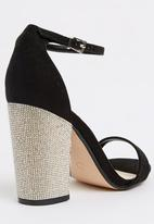 Dolcis - Tiara Ankle-strap Heels Black