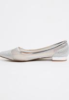 Footwork - Ballerina Pumps Silver