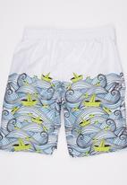 Soobe - Boys Swim Shorts White