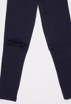 Rebel Republic - Knee Slit Ponti Legging Navy