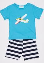 POP CANDY - Airoplane 2 Piece Set  Blue