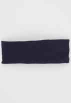 Myang - Denim  Headband With Nautical Blue