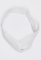 Myang - Knotted Headband White