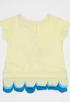 Soobe - Printed T-shirt Yellow