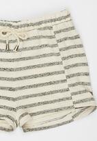 Rebel Republic - Fleece Shorts Multi-colour