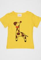 POP CANDY - Printed Tee Yellow