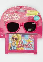 Character Fashion - Barbie Sunglasses  And Wallet Set Mid Pink