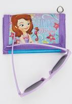 Character Fashion - Sofia  Sunglasses  And Wallet Set Mid Purple