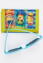 Character Fashion - Minions  Sunglasses  And Wallet Set Multi-colour