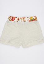 Eco Punk - Fleece Shorts Stone