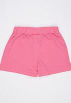 POP CANDY - Cotton Knit Shorts Mid Pink