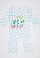 POP CANDY - I Love Daddy Romper Multi-colour