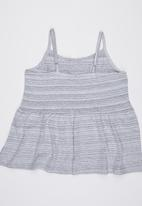 Lizzy - Strappy  Vest Grey