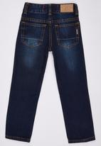 SOVIET - Straight Leg Denim Jeans Dark Blue
