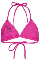 Lizzy - Bikini Top Mid Pink