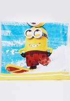 Character Fashion - Minions Beach Towl Multi-colour